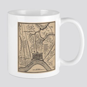Vintage Map of New Orleans Louisiana (1798) Mugs